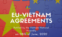 Weltmedien würdigen EVFTA-Ratifizierung durch das vietnamesische Parlament
