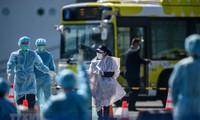 Sorge um 2. Welle der COVID-19-Pandemie auf der Welt
