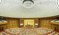 Pressekonferenz zum Abschluss der Parlamentssitzung
