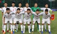 U16-Fußballnationalmannschaft Vietnams spielt gegen Katar