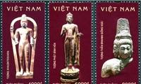 """Ausgabe der Briefmarken über """"Kultur Oc Eo"""""""