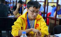 Vietnamesische Schachspieler starten mit zwei Siegen bei Online-Schacholympiade