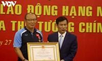 Trainer Park Hang-seo erhählt Arbeitsorden zweiter Klasse