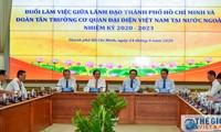 Verbindung der Aktivitäten der internationalen Beziehungen zur Entwicklung von Ho Chi Minh Stadt