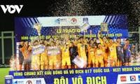 U17-Fußballklub Song Lam Nghe An gewinnt Meisterschaft - Next Media 2020