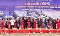 Viele Projekte werden zur Begrüßung zum 1010 jährigen Bestehen von Hanoi gebaut
