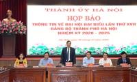 Hanoi ist bereit zur Austragung der Vertreterparteisitzung der Stadt
