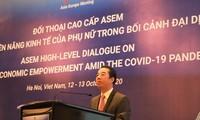 ASEM-hochrangiger Dialog zur Förderung der Wirtschaftsrechte der Frauen