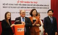UNFPA unterstützt Frauen mit Nothilfesets