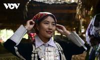 Friedliches Leben der Mong am Berg von Son Bac May