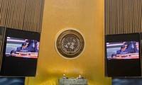 UN-Vollversammlung verabschiedet eine Resolution auf Vorschlag Vietnams