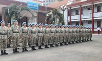 Letztes Training für vietnamesische Friedensmission im Südsudan