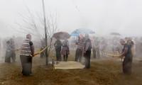 Tausende Menschen nehmen am Gau Tao-Fest teil