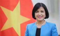 Die vietnamesische Delegation in Genf feiert den 111. Weltfrauentag