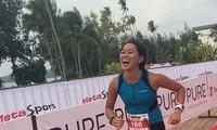 Ein vietnamesisches Mädchen träumt von Weltrekord der Belastbarkeit