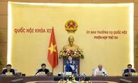 Abschluss der 54. Sitzung des Ständigen Ausschusses des Parlaments