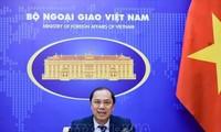 Vizeaußenminister Nguyen Quoc Dung führt Online-Gesprächh mit deutschem Staatssekretär Niels Annen