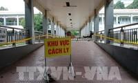 Vietnam hat am Dienstag eine COVID-19-Infizierte bei Einreise gemeldet