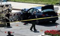 Die USA reagieren nach Autounfall am Parlamentsgebäude