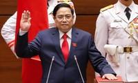 Spitzenpolitiker der Länder beglückwünschen neuen Staatspräsidenten und Premierminister