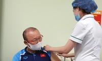 Trainer Park Hang-seo und seine Assistenten werden gegen COVID-19 geimpft