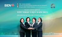 """BIDV erhält Preis """"Beste Bank für Einzelhändler Vietnams"""""""