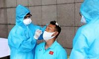 Spieler der vietnamesischen Fußballmannschaft werden zum 2. Mal gegen COVID-19 geimpft