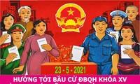 Alles für die Sicherheit der Wahlen des Parlaments und der Volksräte