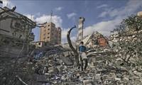 Schwierigkeiten bei Rettungen und humanitären Hilfen im Gazastreifen