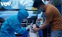 Neue COVID-19-Infizierte in Vietnam