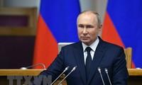 Russlands Präsident Wladimir Putin ist optimistisch über die Weltwirtschaft