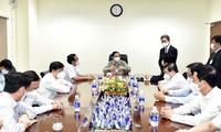 Pham Minh Chinh leitet Online-Sitzung mit Vertretern südvietnamesischer Provinzen über Pandemie-Bekämpfung