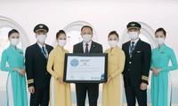 Vietnam Airlines erhält fünf Stern-Lizenz für Sicherheit bei COVID-19-Bekämpfung
