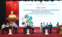 Konferenz für Handel von Longan aus Hung Yen