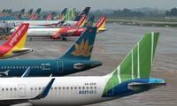 Reduzierung von Inlandsflügen zu Orten mit sozialer Distanzierung