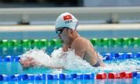 Anh Vien schwimmt als Letzte in der 2. Qualifikationsrunde im 200m Freistil