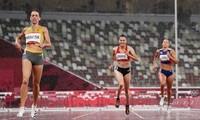 Für Läuferin Quach Thi Lan ist das Halbfinale über 400 m Hürden beendet