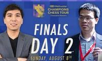 Le Quang Liem ist Zweiter im Schachturnier Chessable Masters 2021