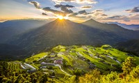 """Online-Tourismus """"Durch Erbe von Reis-Terrassen in Hoang Su Phi"""