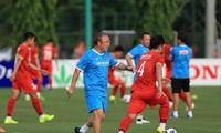 Trainer Park Hang-seo müht sich um neue Reform der vietnamesischen Nationalfußballmannschaft
