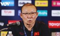 Park Hang-seo trainiert weiterhin die vietnamesische Fußballnationalmannschaft