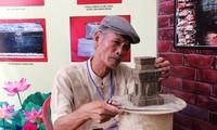 Erhaltung der Cham-Keramik