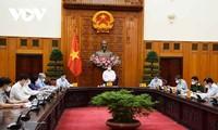 Premierminister Pham Minh Chinh leitet Konsolidierung des nationalen Verwaltungsstabes zur COVID-19-Bekämpfung
