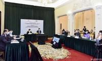 Online-Forum zwischen Vietnam und Nahen Osten über Zusammenarbeit und Investition