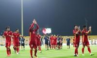 Vietnamesische Fußballnationalmannschaft steht vor Spiel bei Hitze in Saudi Arabien