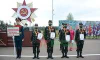 Army Games 2021: Vietnam gewann Bronzemedaille für Längengrad- Wettbewerb