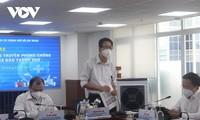 Probenaufnahme für fast alle Bürger in Rot-und Orange-Gebieten in Ho Chi Minh Stadt