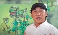 Künstler des Volkes Ta Minh Tam mit MV 'Teilen etwas von Gutem' zur Pandemie-Bekämpfung