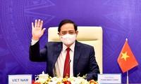 Premierminister Pham Minh Chinh nimmt an erweitertem Online-Gipfelkonferenz zur Zusammenarbeit der Mekong-Subregion teil