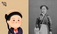 Frauentrachten in der Nguyen-Dynastie waren nicht eintönig